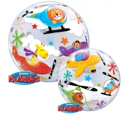 "Balionas-bubble ""Skrajojantis cirkas"" (56 cm)"