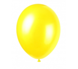 Balionas, geltonas perlamutrinis (30 cm)