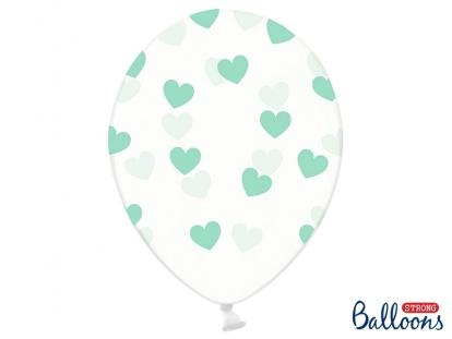 """Balionas """"Mėtinės širdelės"""" (30 cm)"""