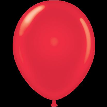 Balionas, perlamutrinis raudonas (30 cm)