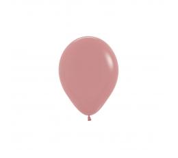 Balionas, pudrinis rožinis (12 cm)