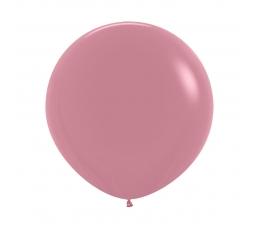 Balionas, pudrinis rožinis (60 cm)