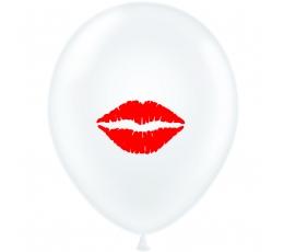 """Balionas """"Raudonos lūpos"""" (30 cm)"""