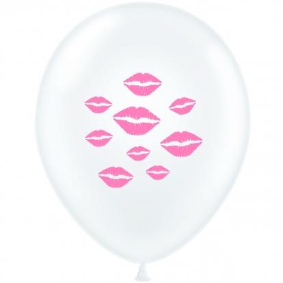 """Balionas """"Rožinės lūpos"""" (30 cm)"""