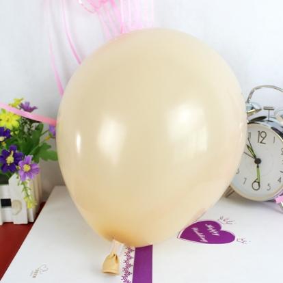 Balionas, šampaninis  perlamutrinis (30 cm)