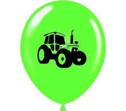 """Balionas """"Traktorius"""", salotinis-juodas (30 cm)"""
