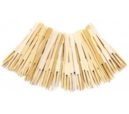 Bambukinės šakutės-smeigtukai (70 vnt.)
