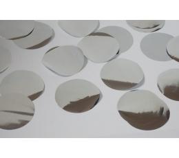 """Barstoma konfeti """"Sidabriniai apskritimai"""" (10 g)"""
