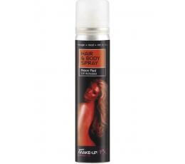 Blizgesys kūnui ir plaukams, raudonas (75 ml)