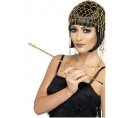 Cigaretės laikiklis, auksinis (21 cm)