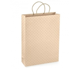 Davanų maišelis, kreminės spalvos
