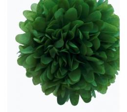 """Dekoracija """"Pūkuočiai"""", žali (2 vnt./30 cm)"""