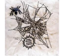 Voro tinklas su voriuku, baltas  (20 g.)