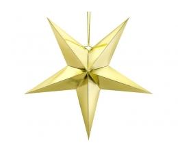 """Dekoracija """"Žvaigždė"""", auksinė (70 cm)"""