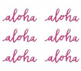 """Dekoracijos """"Aloha"""" (6 vnt.)"""