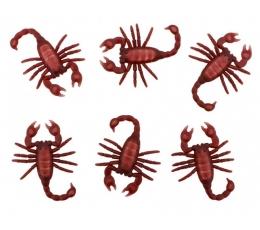 """Dekoracijos """"Skorpionai"""" (6 vnt./5x8 cm)"""
