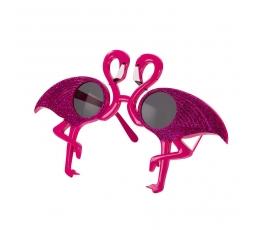 """Dekoratyviniai akiniai """"Flamingai"""""""