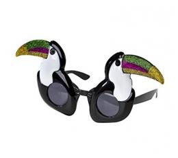 """Dekoratyviniai akiniai """"Tukanai"""""""