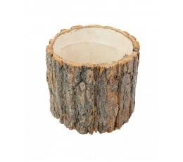 Dekoratyvinis medžio kelmas (20x20x19 cm)