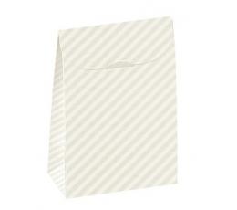 """Dėžutė """"Balti dryželiai"""" (90x45x130)"""