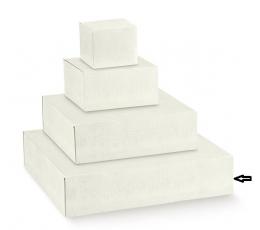"Dėžutė  ""Balti ornamentai"" (440x440x100 mm)"