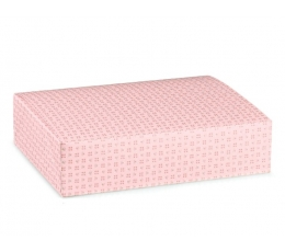 Dėžutė - rožinė (250x200x50 mm.)