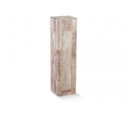 Dėžutė - stačiakampė, medžio imitacija (165*110*40 mm.)
