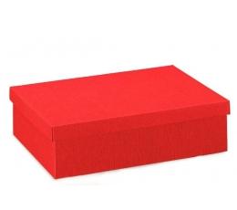 Dėžutė - stačiakampė / raudona (1 vnt./95x65x40 mm.)