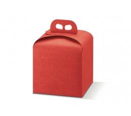Dėžutė - stačiakampė, raudona (245x245x130)