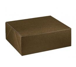 Dėžutė, stačiakampė ruda (350x280x80 mm.)
