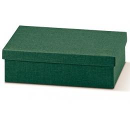Dėžutė - stačiakampė, žalia (340x260x110)