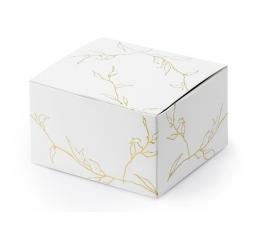 """Dėžutės """"Auksinės šakos"""" (10 vnt./6x3.5x5.5 cm.)"""
