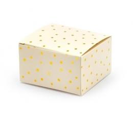 """Dėžutės """"Auksiniai taškeliai"""" (10 vnt.)"""