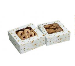 """Dėžutės saldumynams """"Auksinės žvaigždutės"""" (2 vnt.)"""