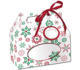 "Dėžutės saldumynams ""Kalėdų snaigės"" (4 vnt.)"
