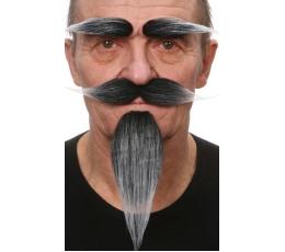 Dirbtiniai ūsai,antakiai,barzda (035-LF)