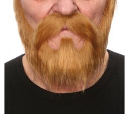 """Dirbtiniai ūsai ir barzda""""Medžiotojas"""""""
