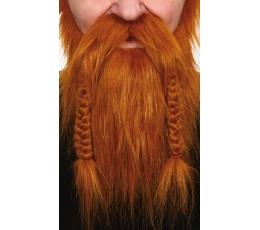"""Dirbtiniai ūsai ir barzda""""Vikingas"""" (060-LB)"""