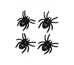 Guminiai vorai, limpantys (4 vnt./5 cm)