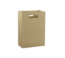 Dovanų krepšelis, kraftinis (27x11x35 cm)