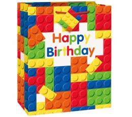 "Dovanų maišelis ""Lego"" (1 vnt./33x27x14cm.)"