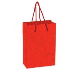 Dovanų maišelis / raudonas (1 vnt./160x80x230 mm.)
