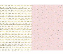 Dovanų pakavimo popierius, pastelinis žaismingas (2 vnt./70x200 cm)