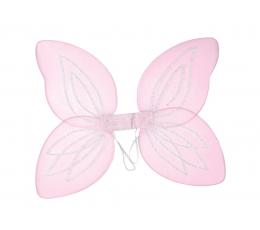 Drugelio sparnai / rožiniai (1 vnt.)