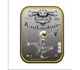 """Etiketė buteliui """"Kaukuolinis"""" (11,50x15 cm)"""