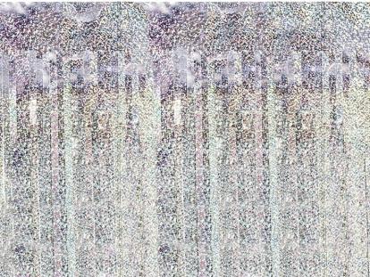 Folinė užuolaida-lietutis, holografinė (90x250 cm)