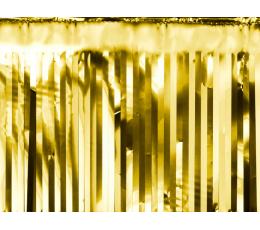 Folinio lietučio girlianda, auksinė (18,5x400 cm)