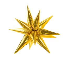 """Folinis 3D balionas """"Auksinė žvaigždė"""" (95 cm)"""