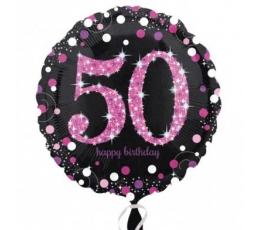 "Folinis balionas ""50"" (18"" 46 cm.)"