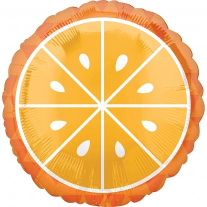 """Folinis balionas """"Apelsinas"""" (43 cm)"""